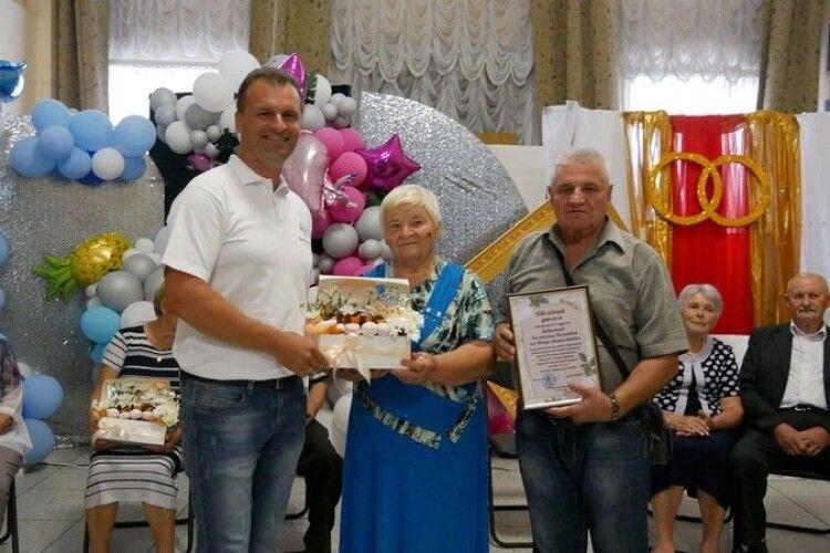 У волинському місті вшанували «золоті» подружні пари (Фото)