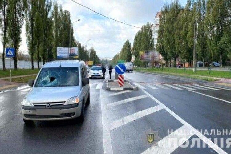 Волинянин збив жінку на пішохідному переході (Фото)