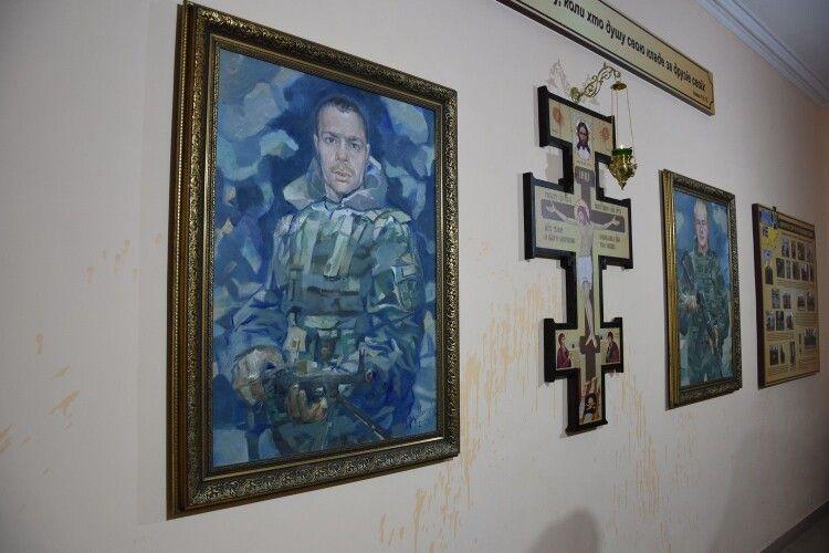 Обидва Сергії пройшли свій Хресний шлях: у Луцькому загоні увіковічнили пам'ять загиблих воїнів-прикордонників