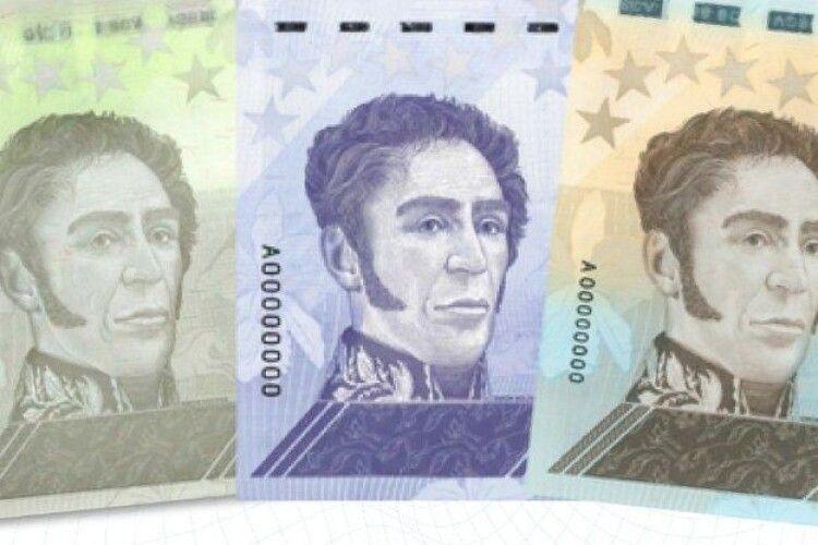 Венесуела введе в обіг одномільйонну банкноту