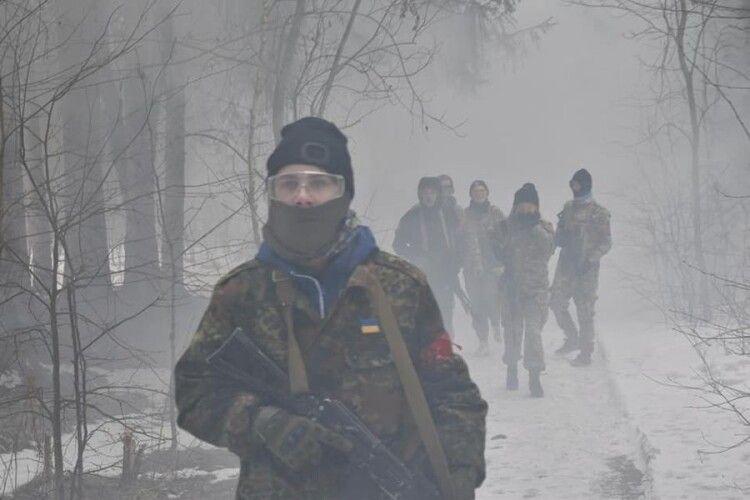 Біля Луцька пройшов військовий вишкіл імені Романа Шухевича (Фото)