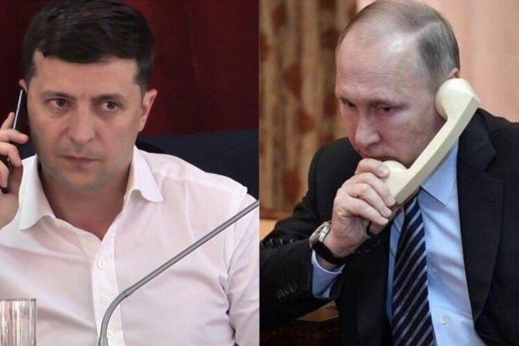 Зеленський розповів чому телефонує Путіну