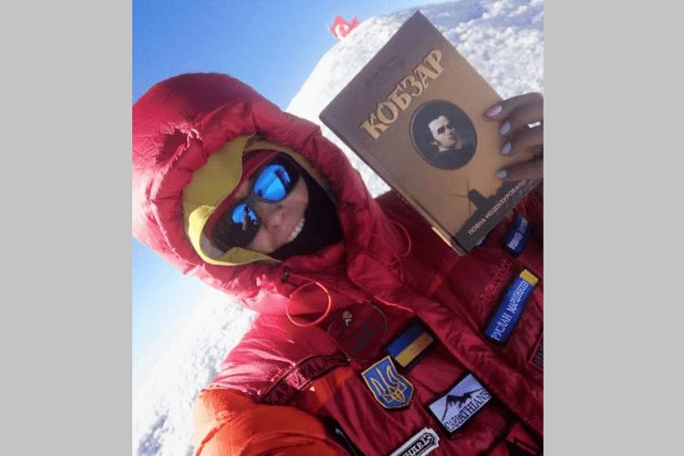 Українка на вершині гори Арарат декламувала «Кобзар» Тараса Шевченка