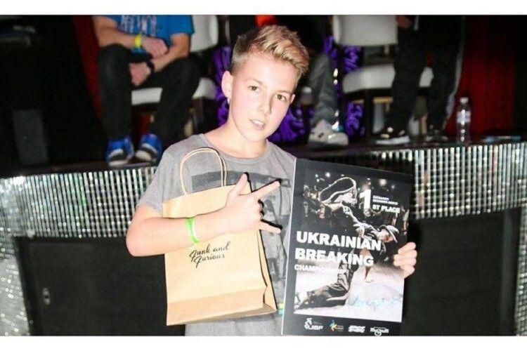 12-річний танцівник став претендентом в збірну України на Олімпійські ігри