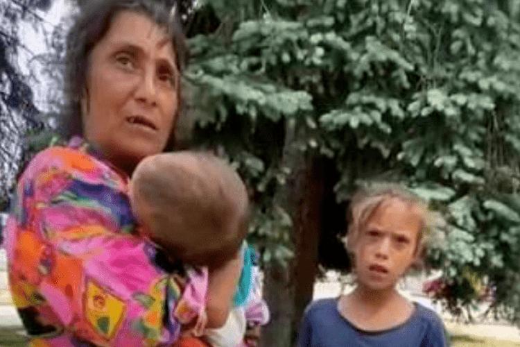 «Це крадені діти», – рівняни про ромів, які жебракують з «мертвими» малюками (Відео)