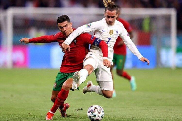Португалія і Франція зіграли внічию в Будапешті (ВІдео)