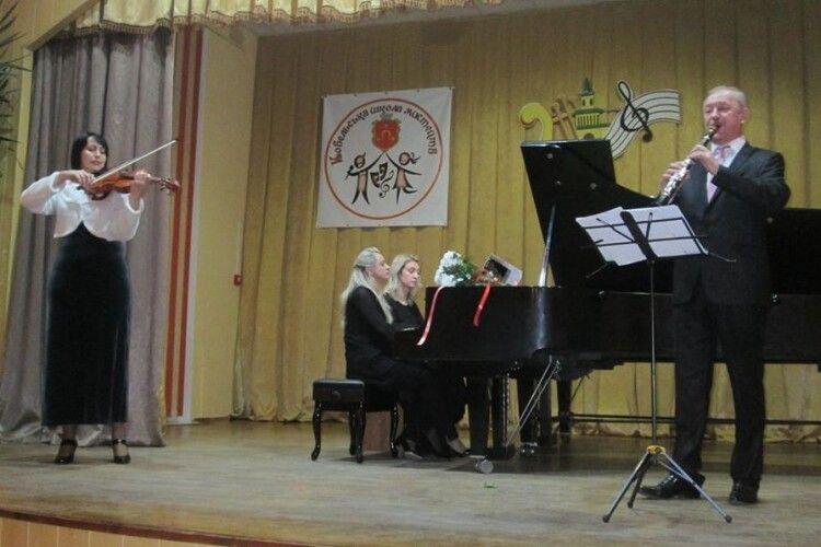 У Ковельській школі мистецтв концертну програму представили гості з Луцька