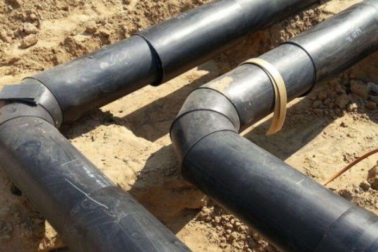 У селі Губин Локачинського району триває реконструкція водопроводу