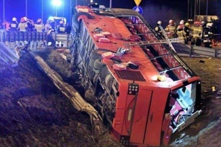 Померла ще одна жертва ДТП за участі українського автобуса в Польщі