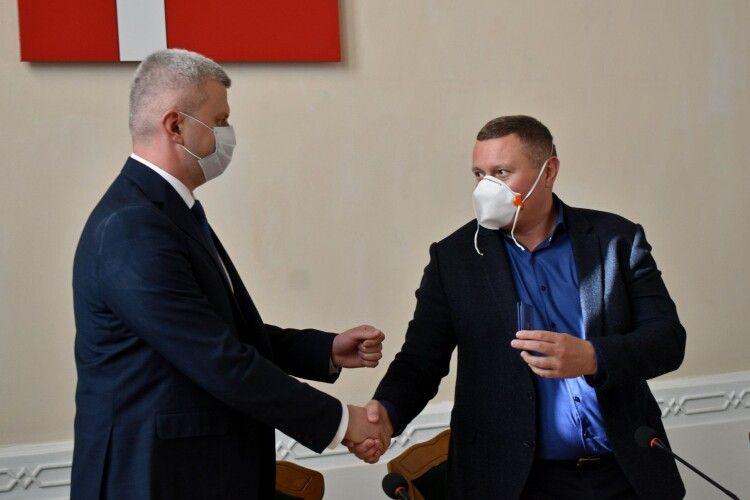 Екс-правоохоронець з Луганщини став першим заступником голови Волинської облдержадміністрації