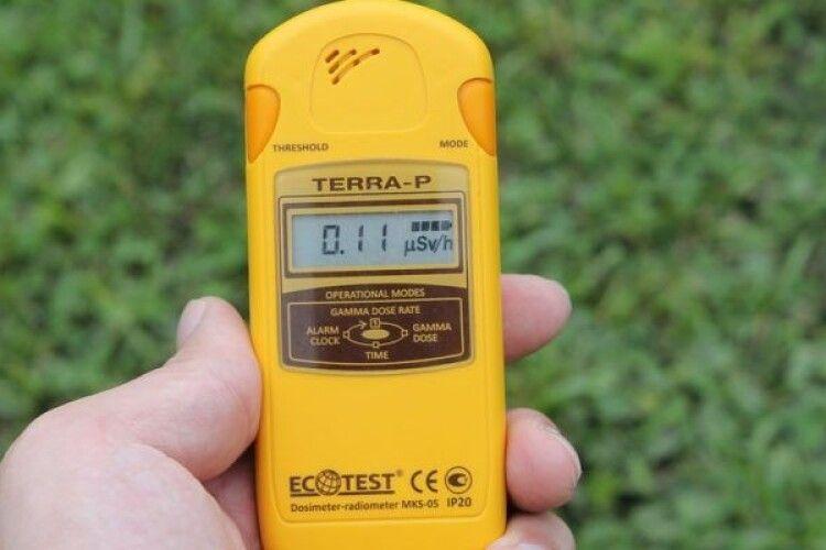У районах Волині виміряли радіацію: де найвищий показник
