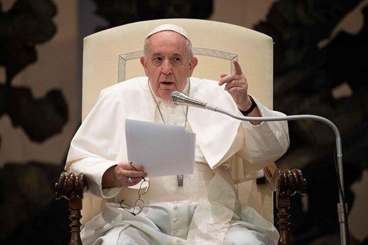 Папа Римський Франциск помилково процитував Путіна замість Меркель