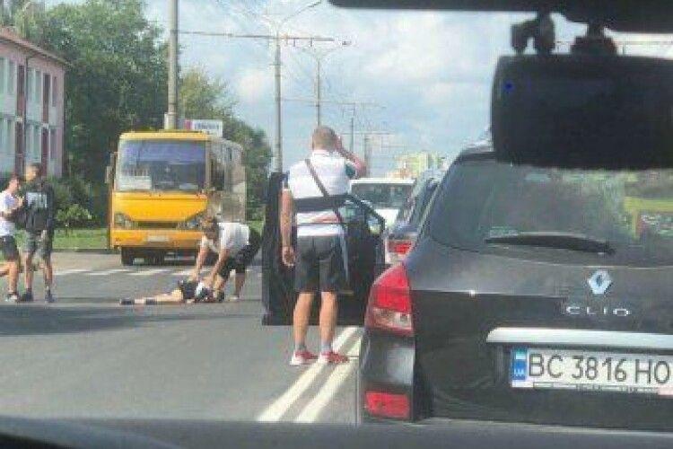 Батьки вибачили водія, який на смерть збив їхнього хлопчика у Луцьку на Дубнівській