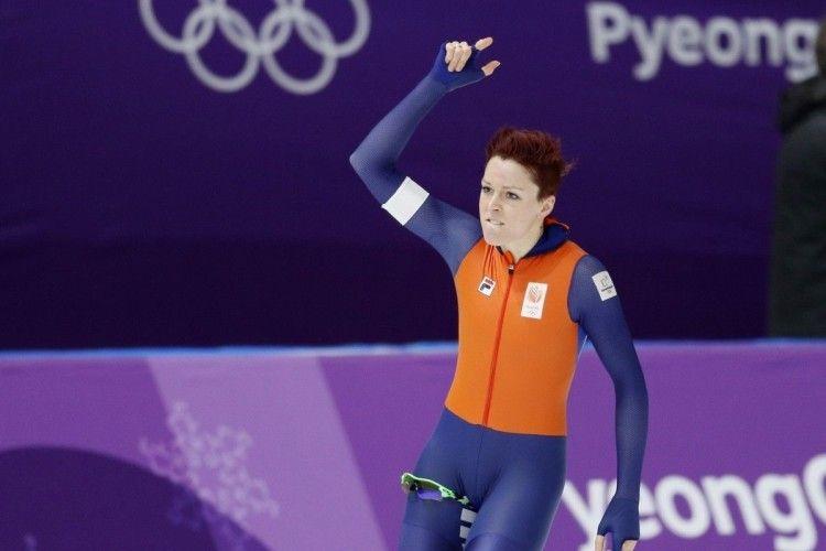 Ковзанярі з Нідерландів завоювали в Пхьончхані п'яте олімпійське «золото»
