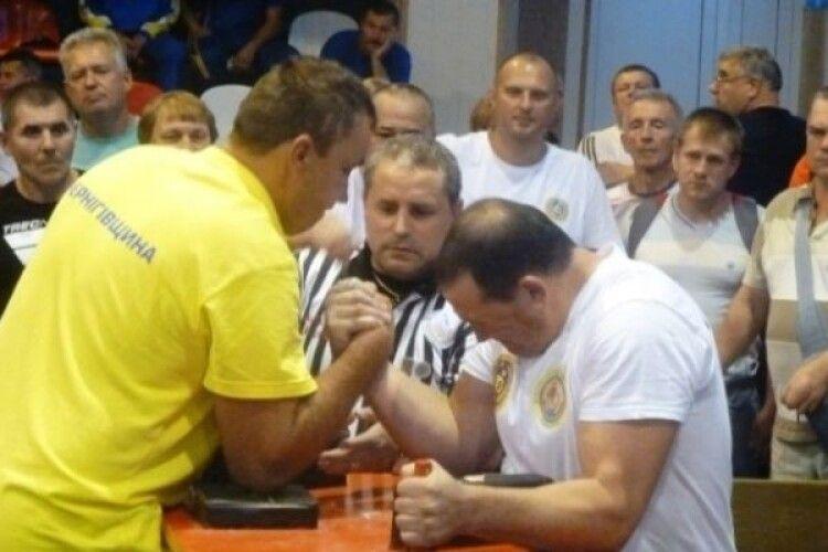 У Рівному проведено відбірні регіональні змагання VІІ-ї Всеукраїнської спартакіади «Сила духу»