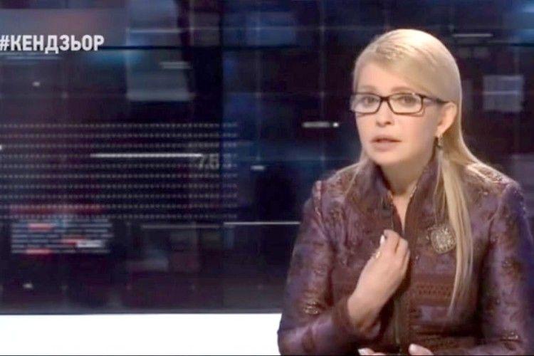 Програма «Кендзьор»: Тимошенко переконувала одного зісхідних патріархів,що неслід поспішати завтокефалією*