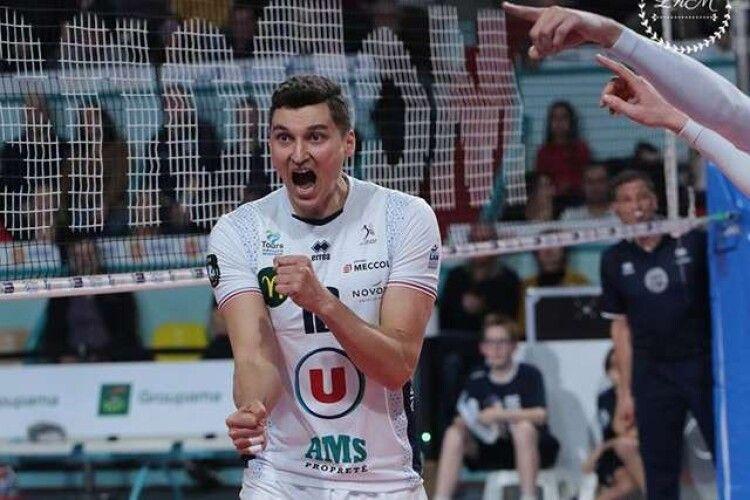 Український волейболіст підписав контракт з французьким клубом