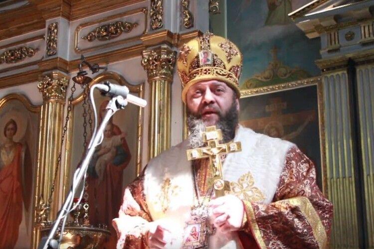 Митрополит Михаїл закликав волинян мити руки, поститися і молитися
