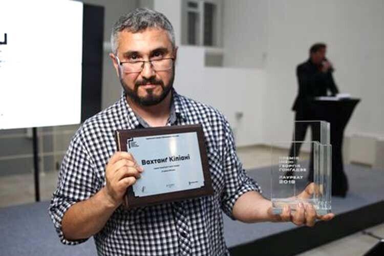 Вахтанґ Кіпіані став першим лауреатом премії імені Георгія Ґонґадзе