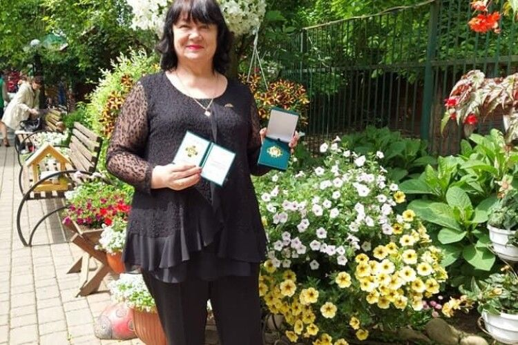 Директорка волинської школи отримала престижну нагороду