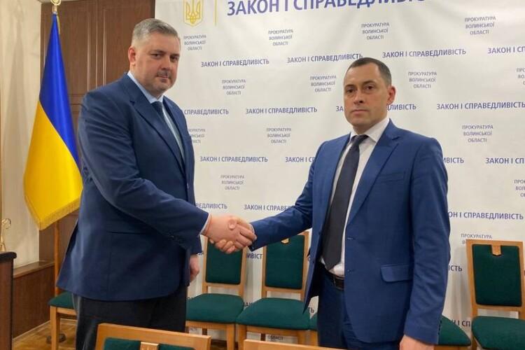 Представили керівника Луцької окружної прокуратури