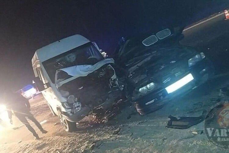 Біля Львова в аварії постраждали 8 волинян: ПОДРОБИЦІ ДТП ( Фото)