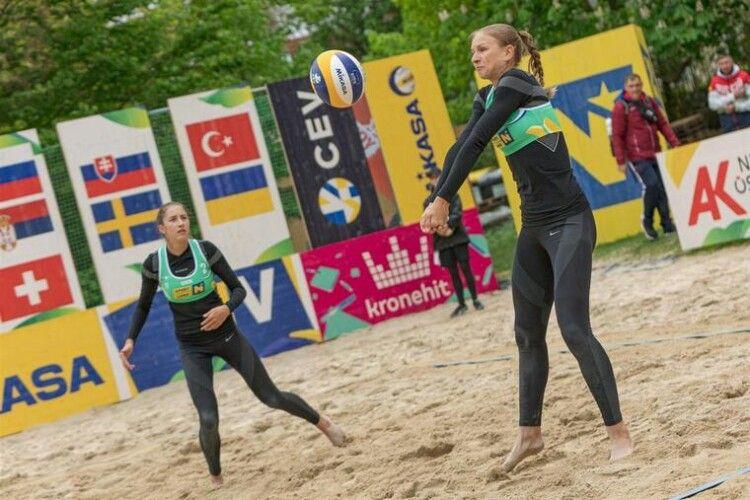 Українські пляжниці вибороли бронзу Чемпіонату Європи-2021 (Фото)