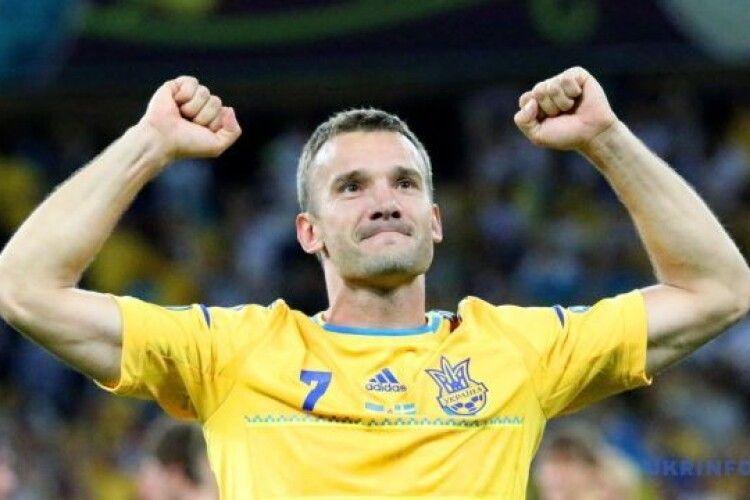 Андрій Шевченко - серед претендентів на найкращого футболіста століття
