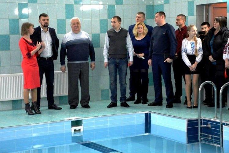 У Володимирі-Волинському запрацював реконструйований басейн