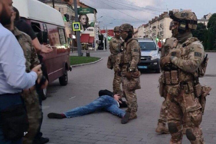 У Харкові затримали ймовірного спільника луцького терориста