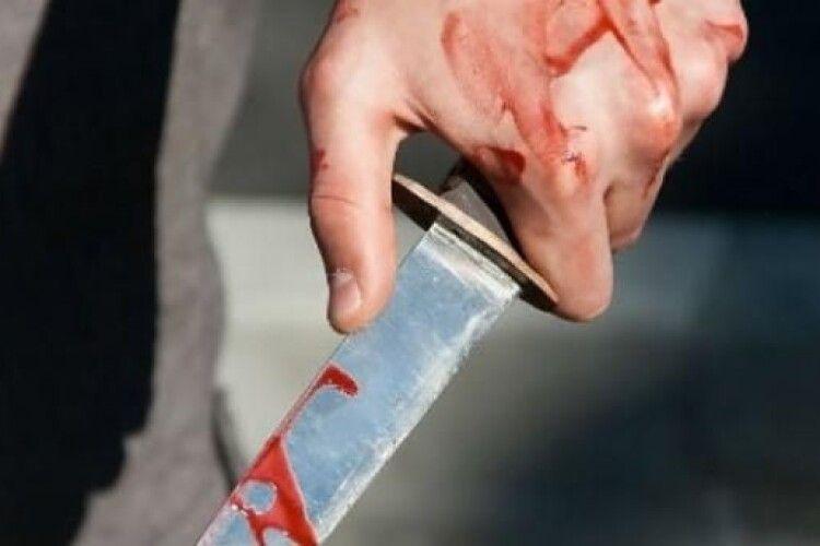 Різанина у волинському селі: нападник і поранений поліцейський – в реанімації