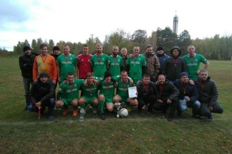 На Ковельщині відбулися матчі ¼ фіналу Кубка району з футболу