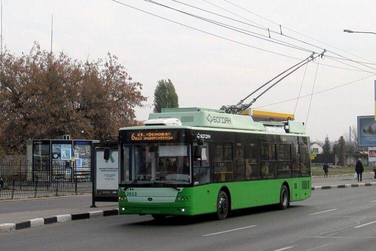 Харків отримав ще 4 луцьких тролейбуси