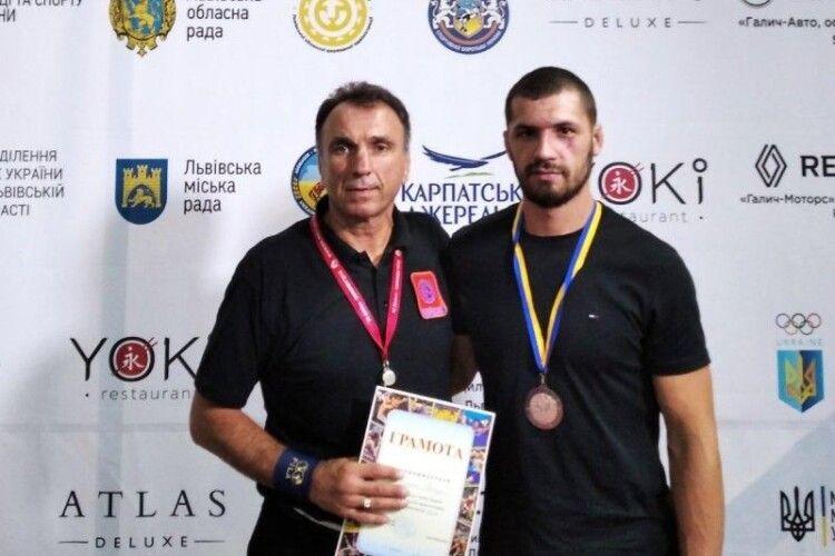 Ковельський борець привіз медаль із Кубку України