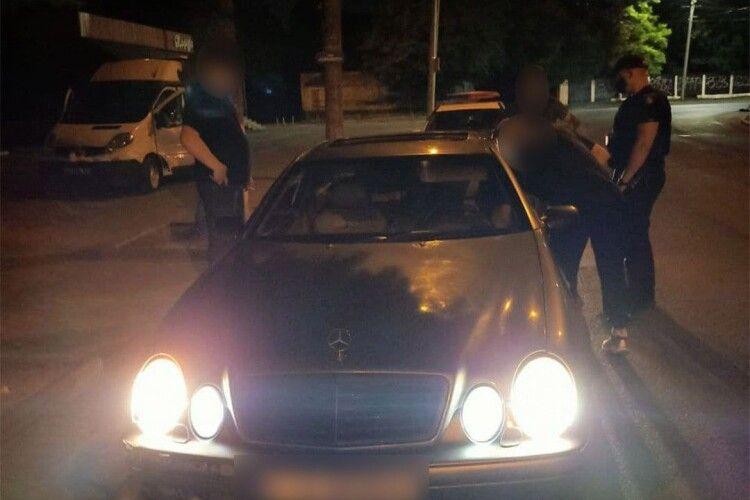 Луцьком роз'їжджав водій під дією наркотиків (Фото)