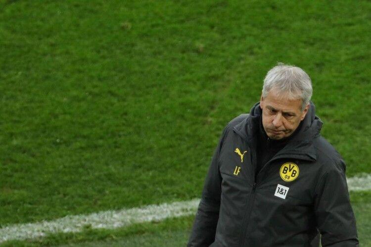 Дортмундська «Боруссія» звільнила Люсьєна Фавра з посади головного тренера після розгромної поразки від «Штутгарта»
