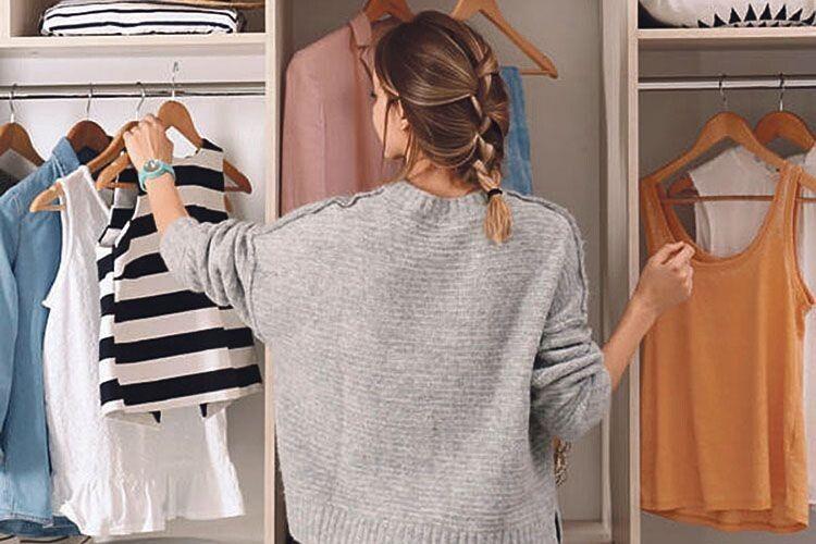 7 простих порад,  як організувати простір у шафі