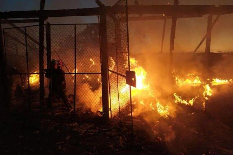 У селян на Рівненщині згоріло чотири тонни сіна