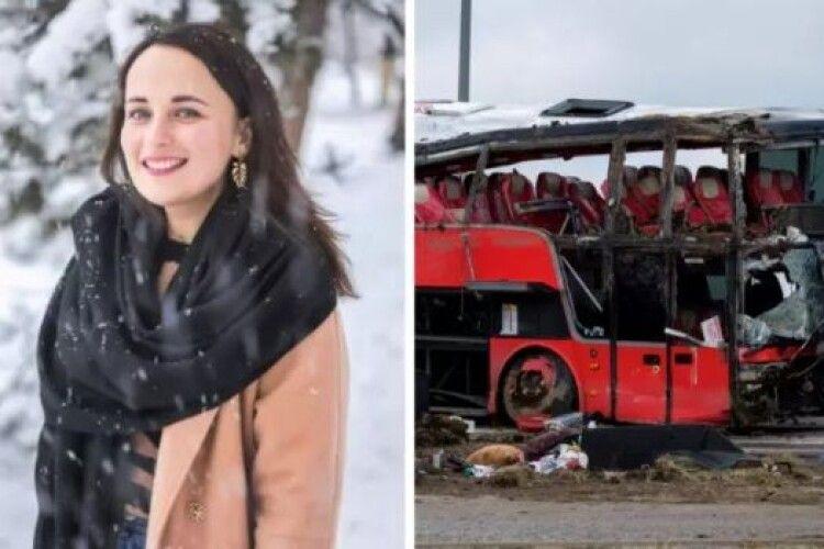 Померла молода дівчина, яка після ДТП у Польщі два місяці боролася за життя
