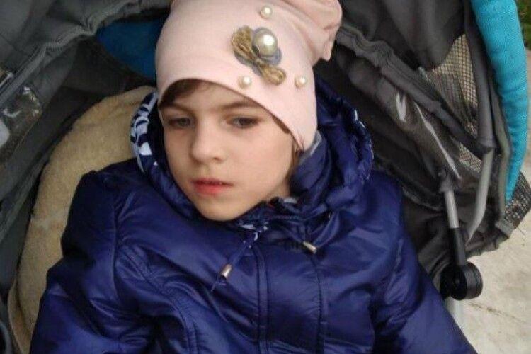 «Допоможіть врятувати життя нашій донечці...», – благає мама важкохворої дівчинки з Горохівщини