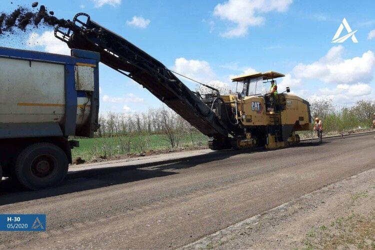 123 км доріг буде відновлено у Волинській області на дорозі М-19