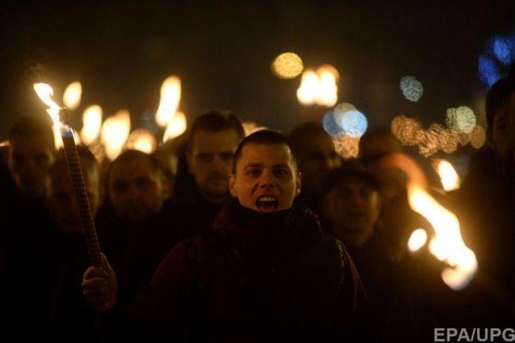 Вулицями болгарської столиці пройшов марш неонацистів