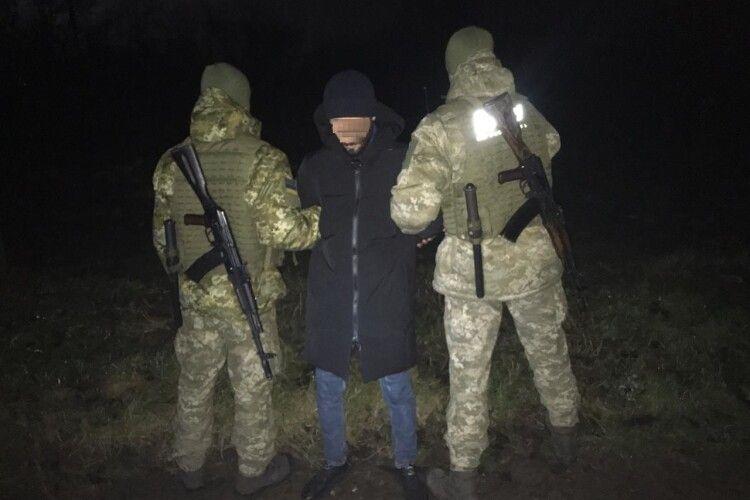 На Волині затримали сирійця, який вдруге спробував перебратись через Буг у Польщу