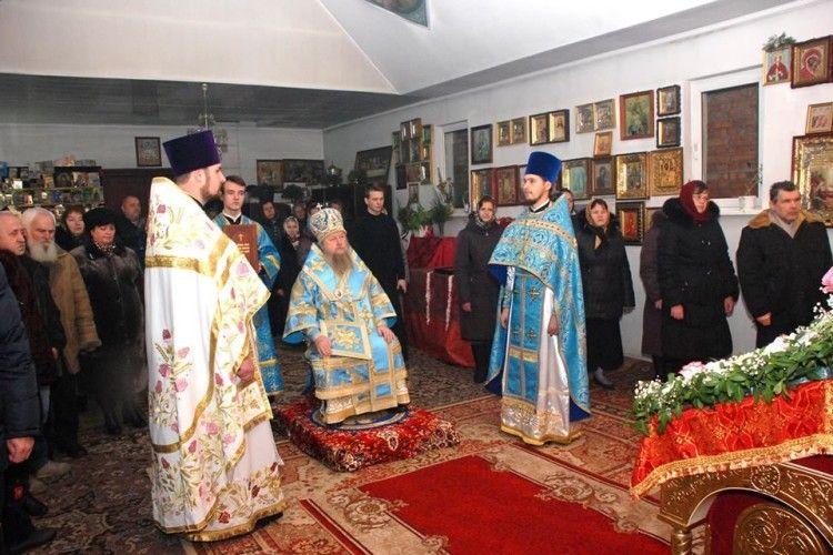 Єпископ Нафанаїл погостював у Великому Омелянику