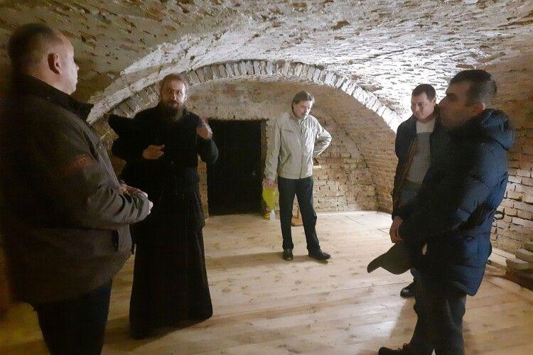 Уряд визнав, що келії Жидичинського монастиря потребують історичних досліджень (Фото)