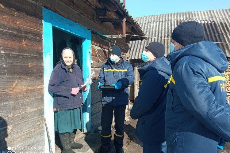 Чому приходили рятувальники до осель селян на Ковельщині (Фото)