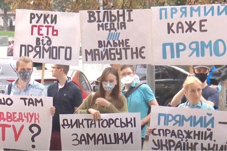 Зеленський наказав знищити опозиційний телеканал «Прямий»