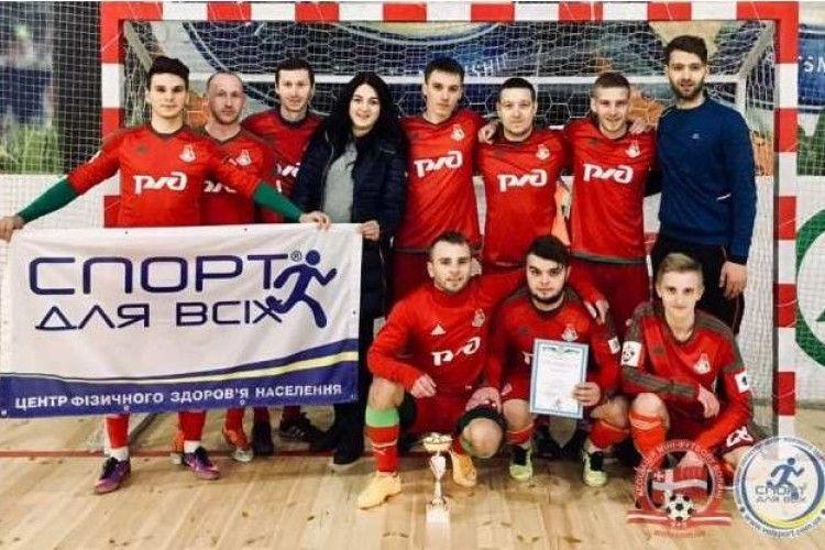 Кубок «Коляди» – у любешівської  команди