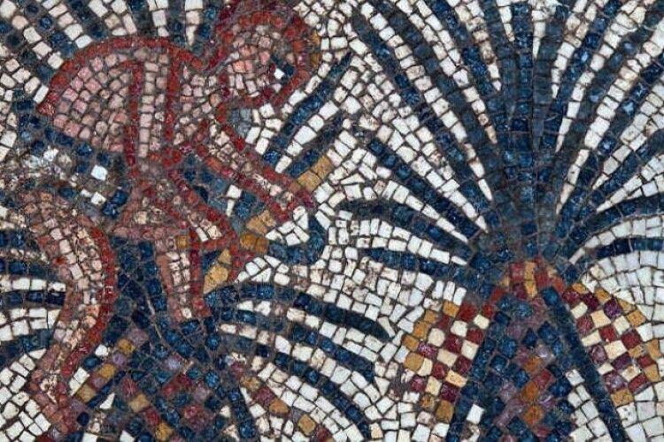 Археологи знайшли мозаїку з зображенням старозаповітного оазису Єлім