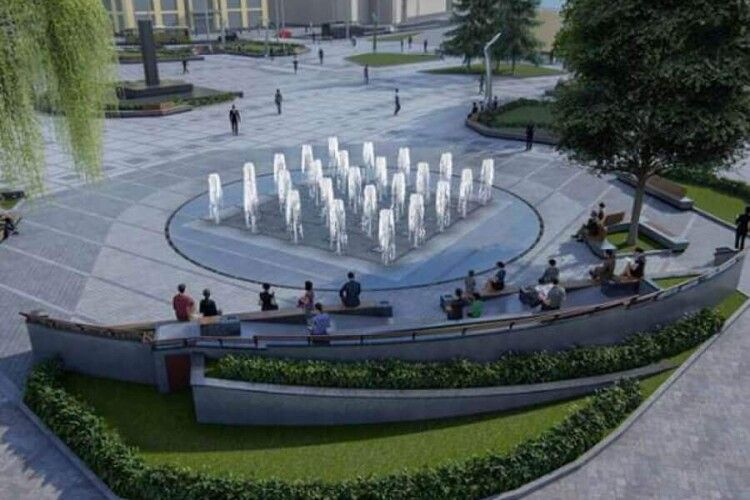 Чому на День міста не відкрили фонтан у центрі Луцька, як обіцяли